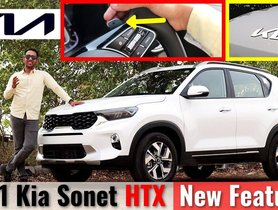 Check Out All The Changes On 2021 Kia Sonet HTX - Video
