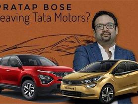 Pratap Bose Resigns as Tata Motors Design Head