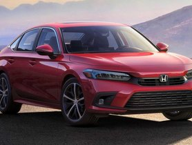 11th-Generation Honda Civic Unveiled, Won't Be Launched In India