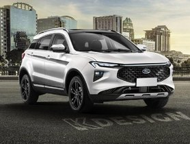 This Is What The Upcoming Ford C-SUV May Look Like
