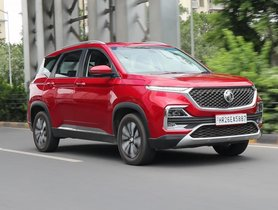 MG Motor India Retail Sales Triple Last Month Compared to May '21