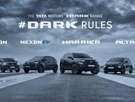 Dark Edition of Tata Altroz, Nexon, Nexon EV & Harrier Launched in India