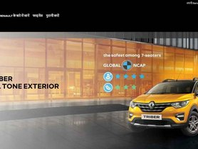 Renault India Website Now Available in Hindi Language
