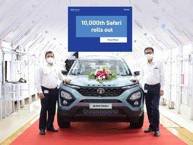 All-New Tata Safari Achieves 10,000 Production Milestone
