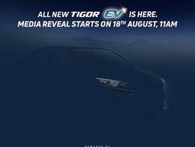 New Tata Tigor EV to be Unveiled on 18 August 2021