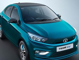 Tata Motors Unveils New Tata Tigor EV Powered by Ziptron Tech