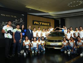 Tata Altroz Hatchbacks Awarded to Indian Olympians Who Missed Podium