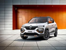 2021 Renault KWID Launched, Dual Airbags Now as Standard