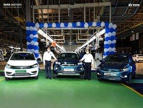 Tata Motors Announces Attaining 10,000 Electric Car Sales Milestone