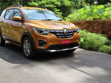 Renault Triber Exterior and Interior Pictures