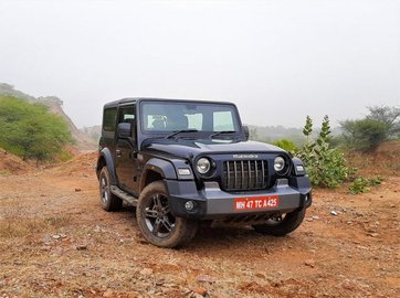 2021 Mahindra Thar 360 Degree View: Full Images Gallery