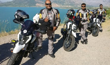 Bajaj Domimar 400 is India's first bike to finish Arctic to Antartic ride