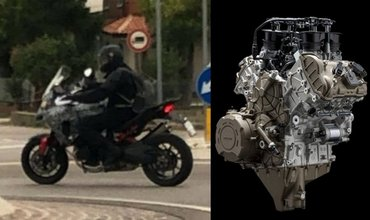 Ducati Multistrada V4 Snapped During Road Tests
