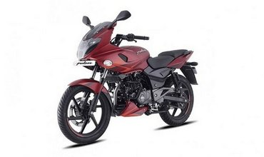 Bajaj Pulsar 220F Updated With New Volcanic Red Colour Option