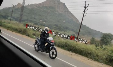 TVS Rockz 125 Spotted Getting Tested In India