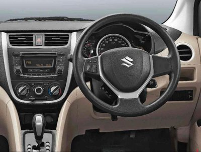 Maruti Suzuki Celerio 2018 steering wheel