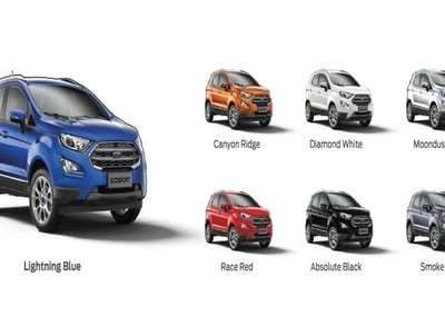 The Ford Ecosport 2018
