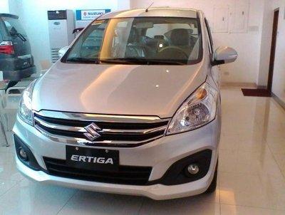 Maruti Suzuki Ertiga 2018 front look