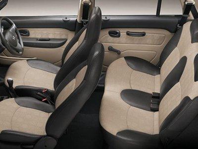Hyundai Santro Xing 2018 seats