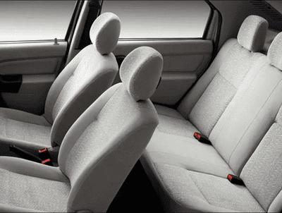 Mahindra Verito 2018 interior seats