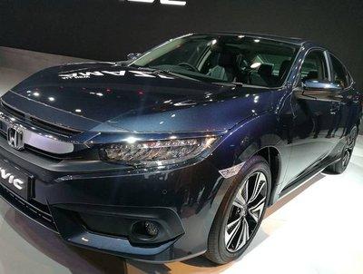 2019 Indian Honda Civic front