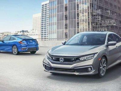 2019 Indian Honda Civic two cars