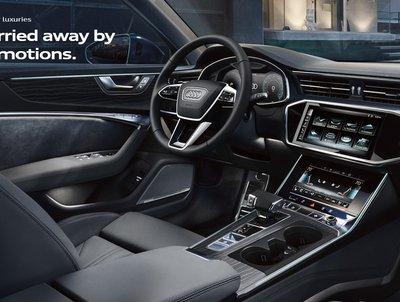 2019 Audi A6 Interior look