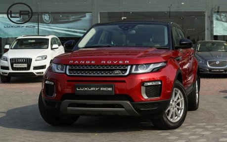 Land Rover Range Rover Evoque Manufactured In 2018 Best Prices For Sale