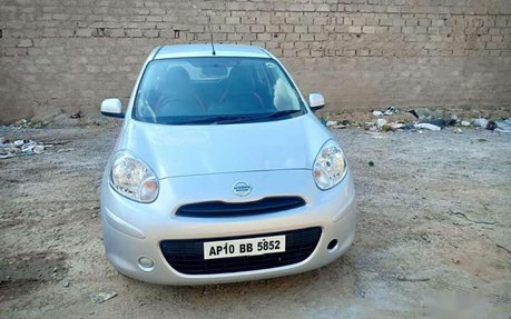 Used Nissan Micra Cars In Hyderabad with search options: model 2012