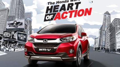 2018 Honda WRV: A crossover version of Honda Jazz with fantastic look and more