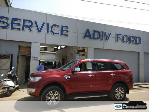 2017 Ford Endeavour 3.0L 4X4 AT for sale at low price