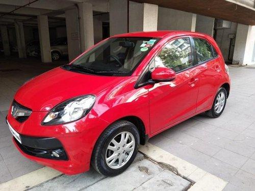 Good 2015 Honda Brio for sale in Mumbai