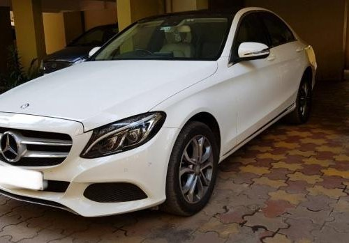 Used 2017 Mercedes Benz C-Class car at low price
