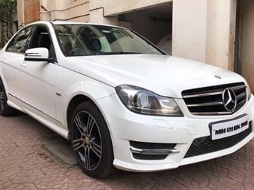 Used 2014 Mercedes Benz C-Class car at low price