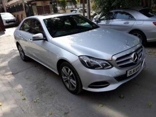 Good 2014 Mercedes Benz E Class for sale at low price