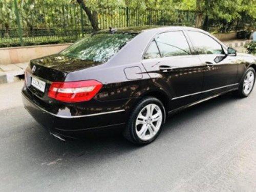 Used 2013 Mercedes Benz E Class for sale in New Delhi