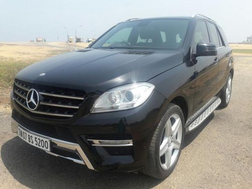 Used 2012 Mercedes Benz M Class car at low price in Chennai