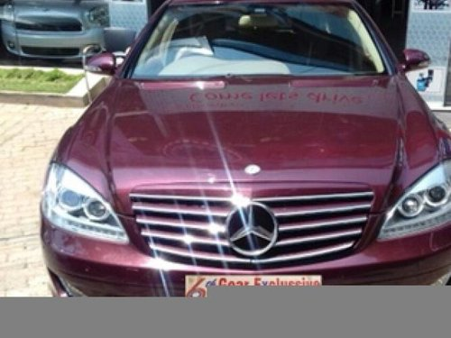 Used 2008 Mercedes Benz S Class for sale in Bangalore