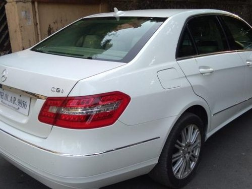 2010 Mercedes Benz E Class for sale at low price