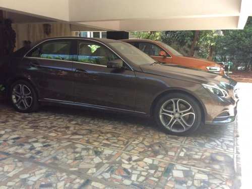 Good 2013 Mercedes Benz E Class for sale at low price