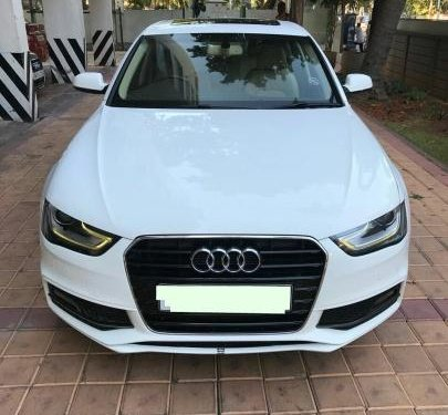 Good as new 2013 Audi A4 for sale