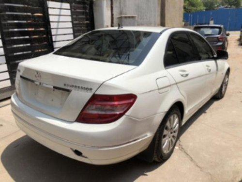 Well-kept 2008 Mercedes Benz C-Class for sale