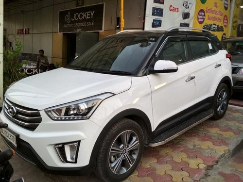 Used Hyundai Creta 1.6 CRDi SX Plus Dual Tone 2017 for sale