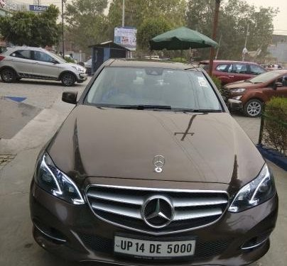 2016 Mercedes Benz E Class for sale at low price