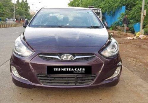 Good 2011 Hyundai Verna for sale at low price in Mumbai