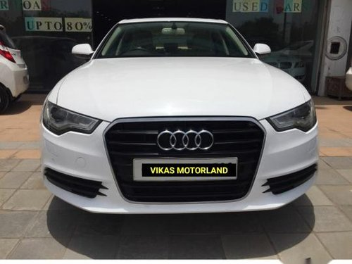 Used 2012 Audi A6 car at low price