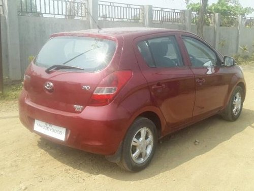 Red color 2010 Hyundai i20 for sale
