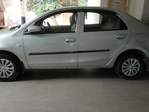 Used 2015 Toyota Platinum Etios car at low price