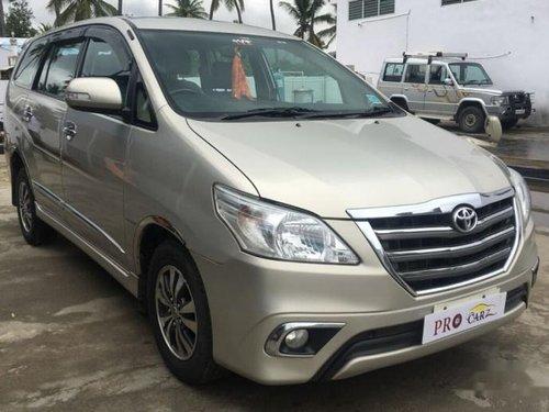 Used 2015 Toyota Innova car at low price