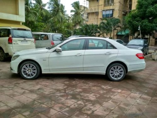 Used 2011 Mercedes Benz E Class car at low price